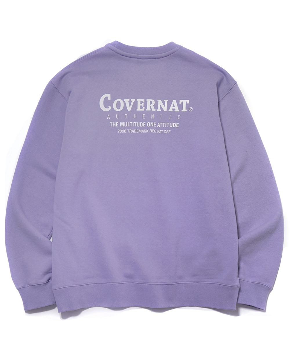 LAYOUT LOGO CREWNECK PURPLE
