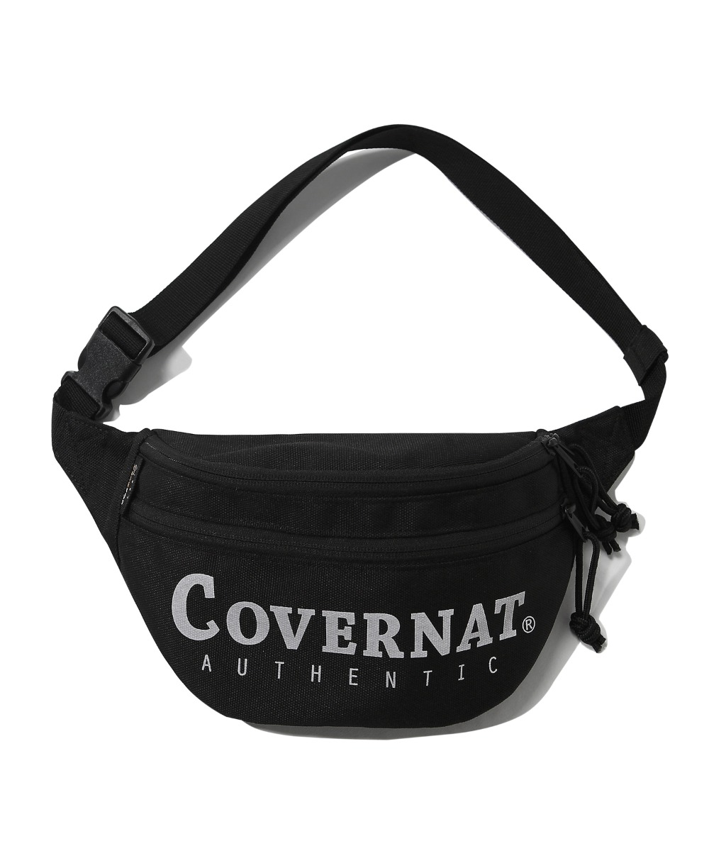 CORDURA  AUTHENTIC LOGO FANNY PACK BLACK