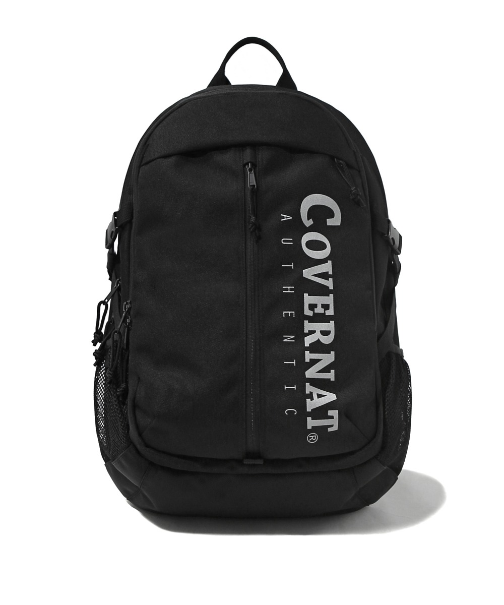 CORDURA AUTHENTIC LOGO TRAVELING RUCKSACK BLACK
