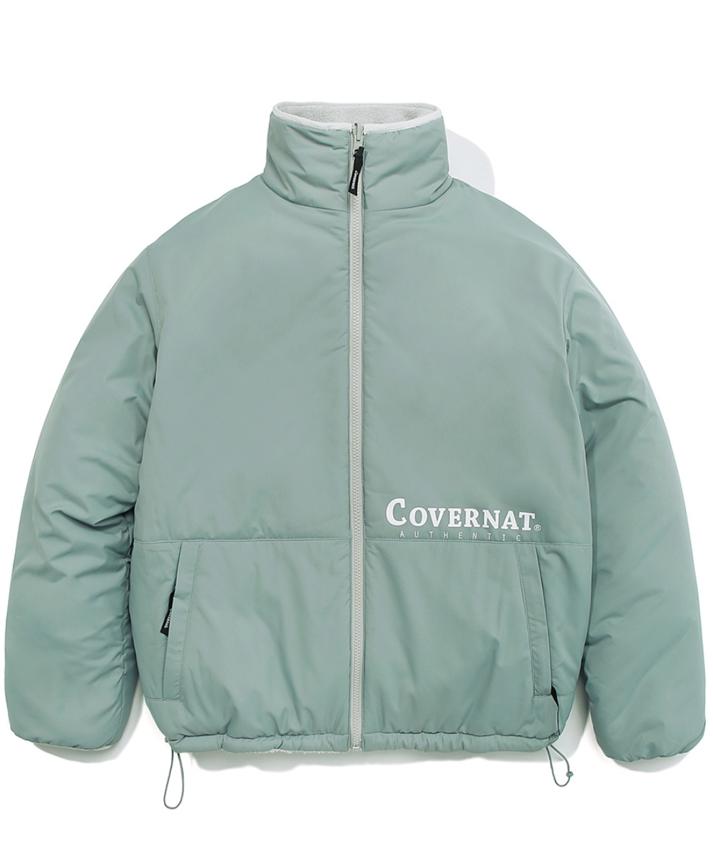 [레드벨벳 예리]REVERSIBLE FLEECE ZIP-UP JACKET MINT
