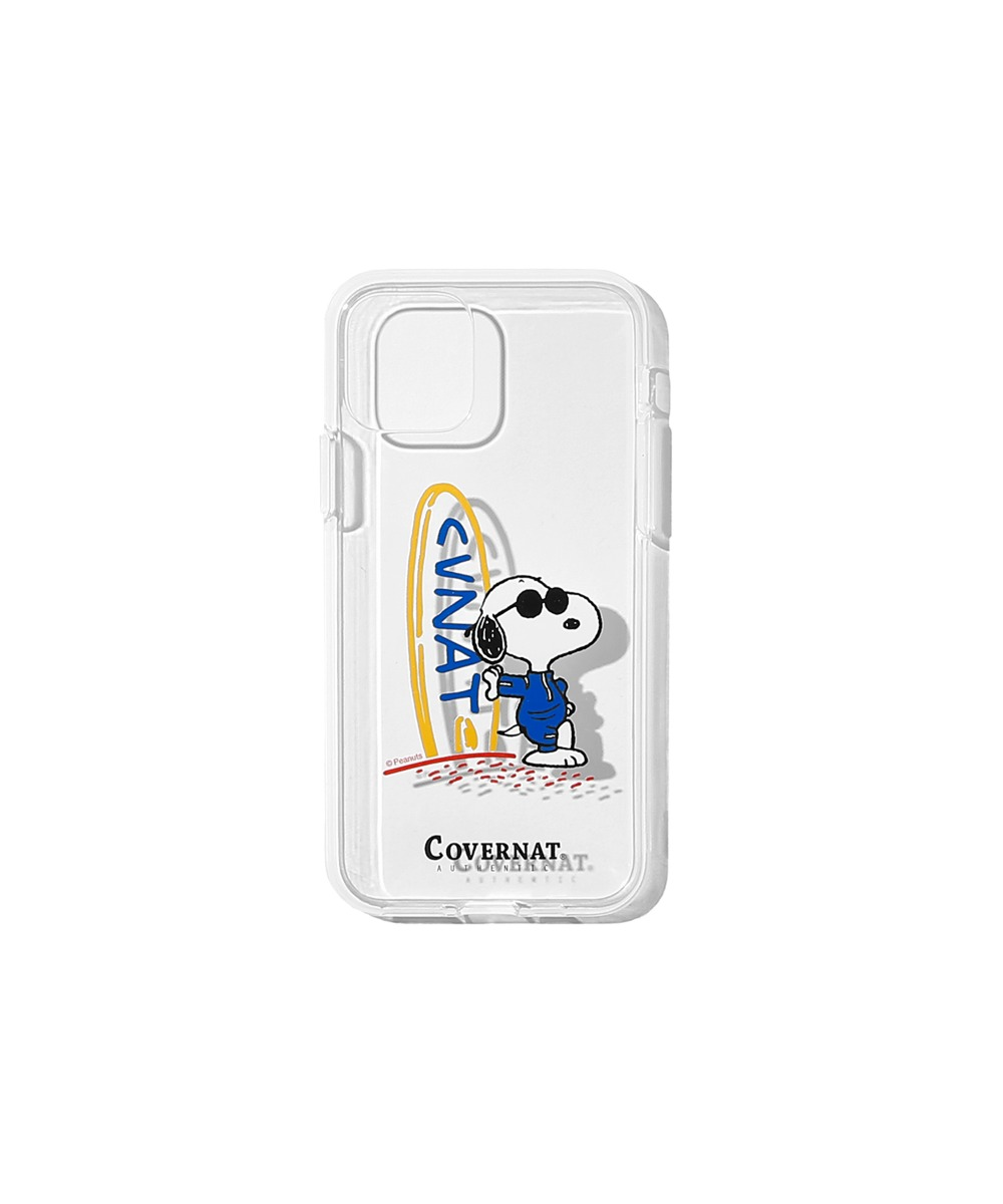 CXPEANUTS 70th CVNT SURFBOARD PHONE CASE CLEAR (iPHONE 11 PRO)