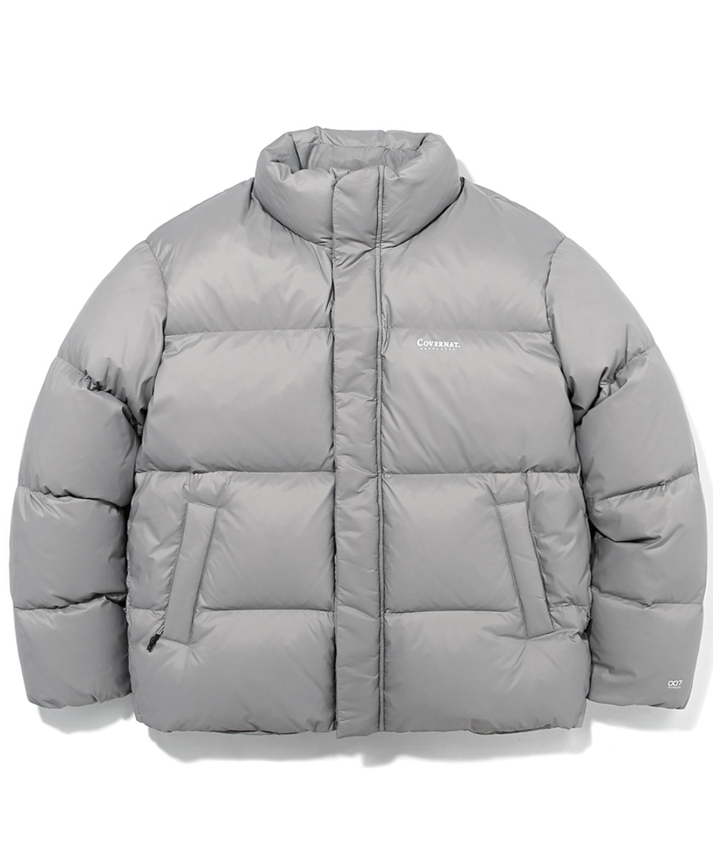 19A/W HUNGARY GOOSE DOWN 007 SHORT PUFFER GRAY