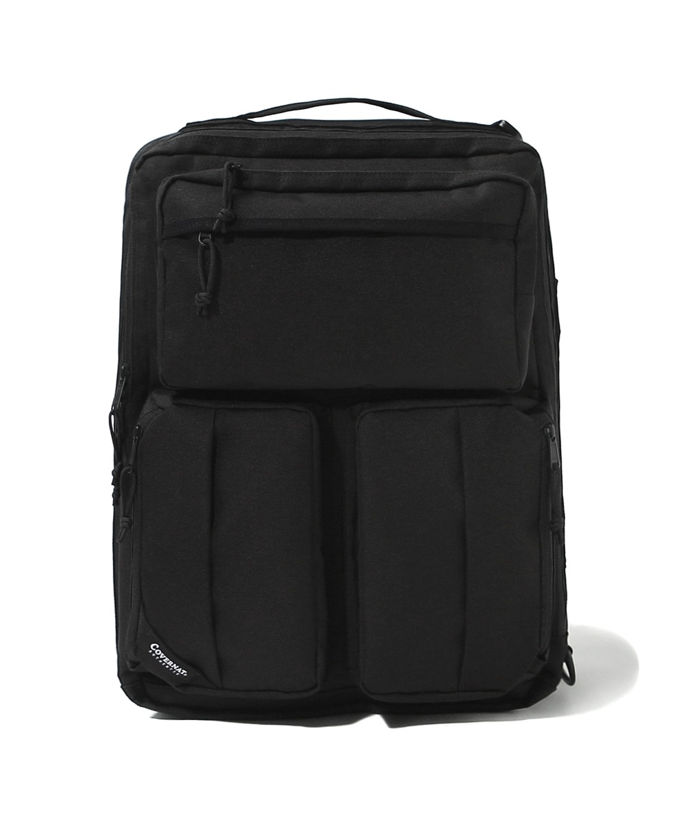 CORDURA 3WAY BAG BLACK