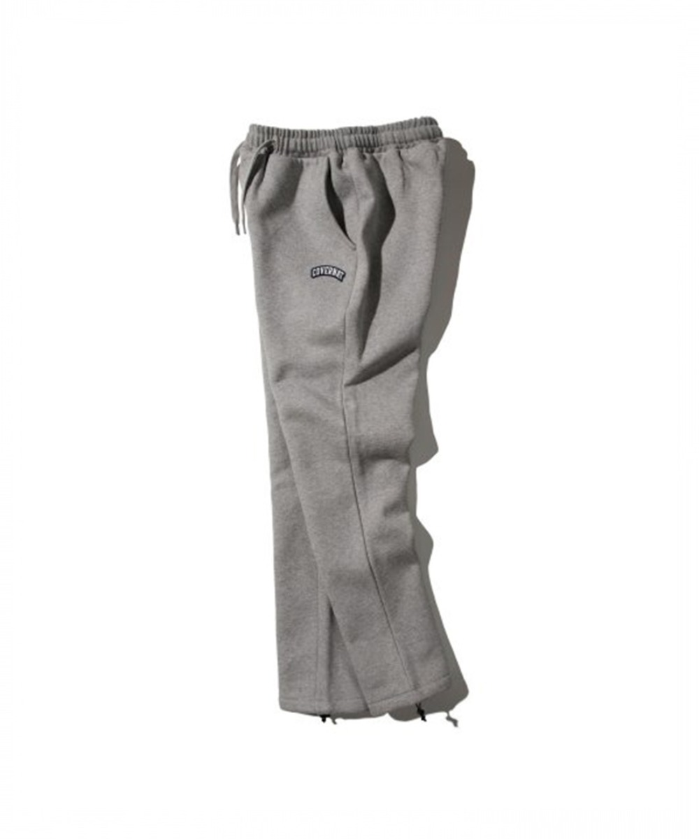 COTTON USA WAPPEN ARCH LOGO PANTS GRAY