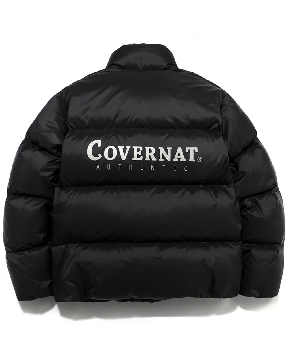 19A/W HUNGARY GOOSE DOWN 007 SHORT PUFFER(BIG LOGO) BLACK