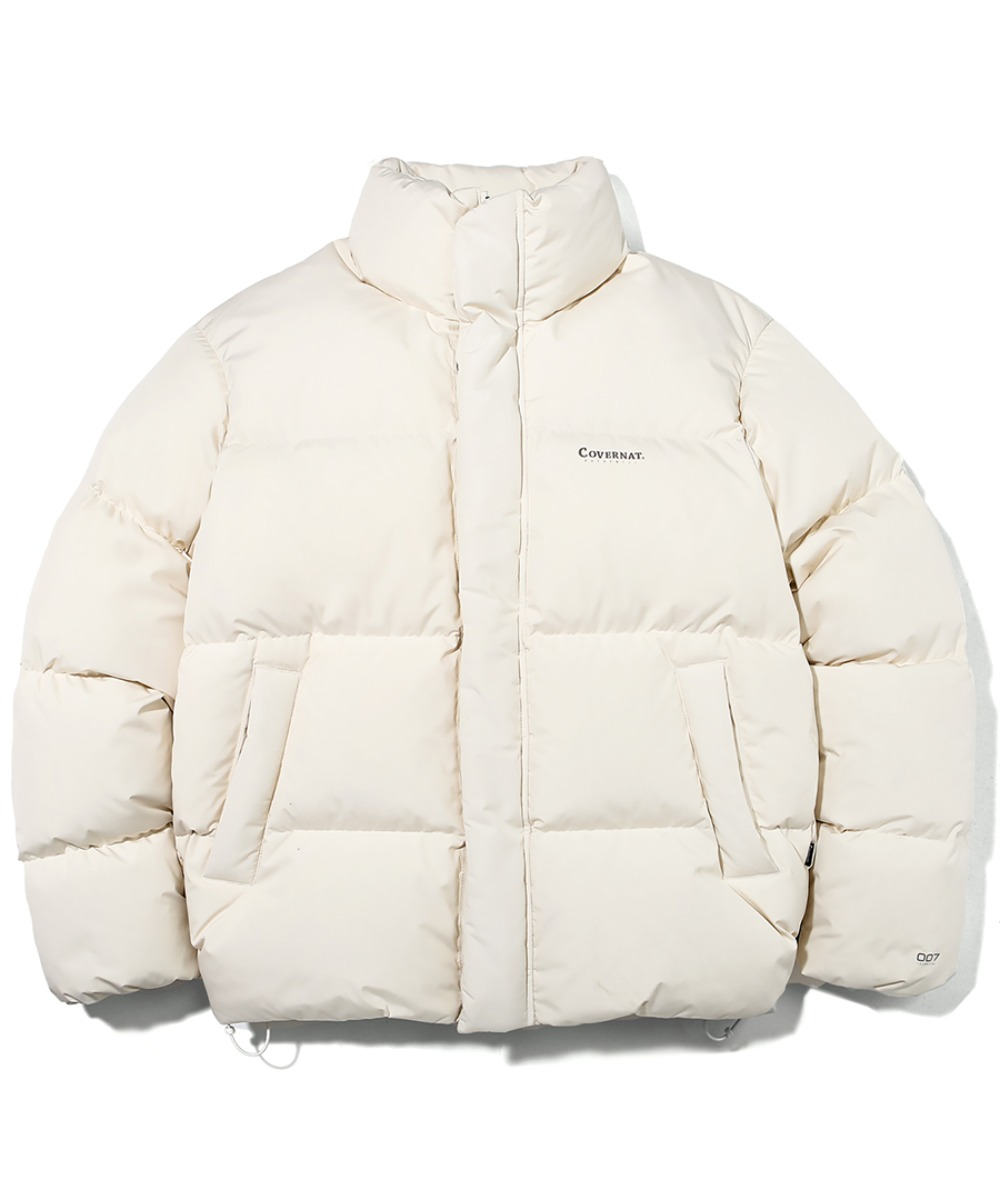 19A/W HUNGARY GOOSE DOWN 007 SHORT PUFFER OFF WHITE