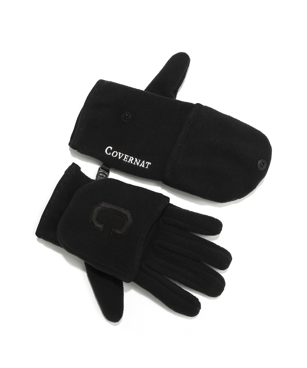 2WAY FLEECE GLOVE BLACK