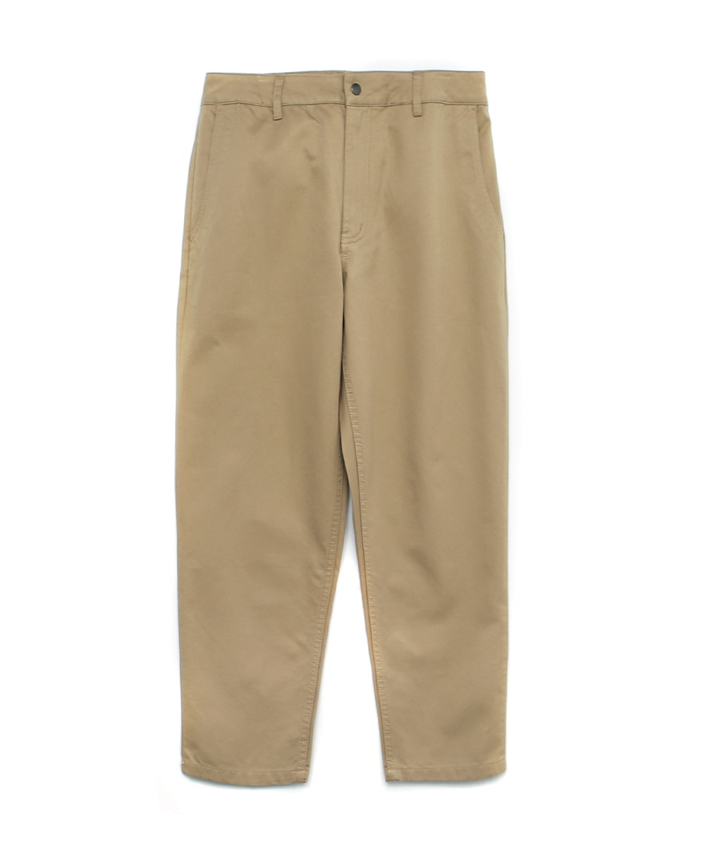 SLIM EASY PANTS BEIGE