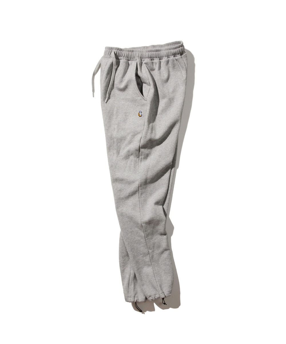 MULTI C LOGO WAPPEN SWEAT PANTS GRAY