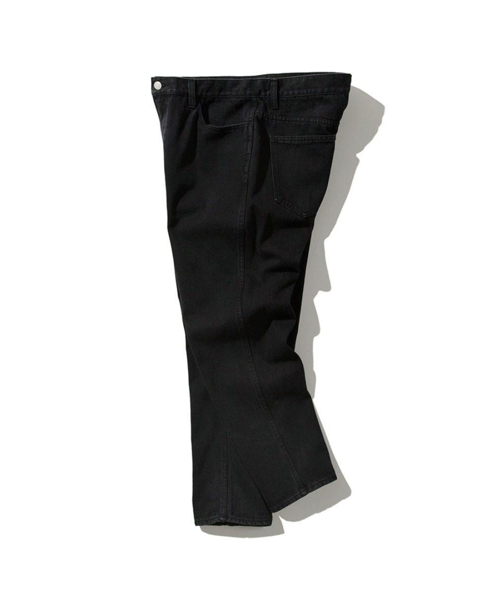 SILM FIT 5PK DENIM PANTS BLACK