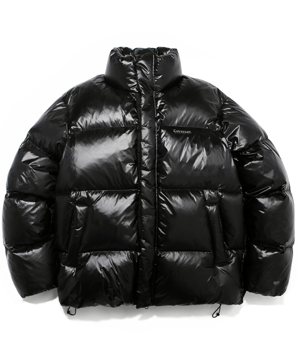 19A/W HUNGARY GOOSE DOWN 007 SHORT PUFFER BLACK WHTCH