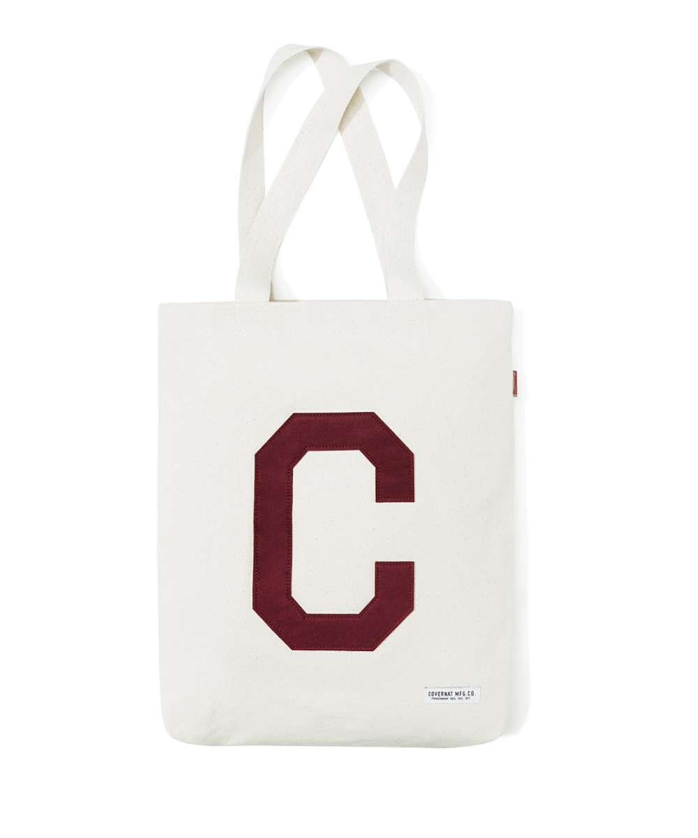 C LOGO ECO BAG BURGUNDY