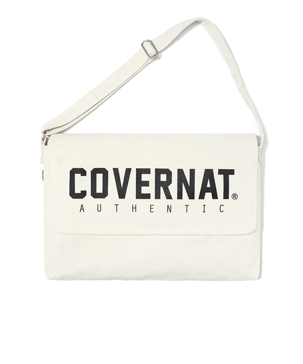 JERSEY LOGO MAIL BAG IVORY