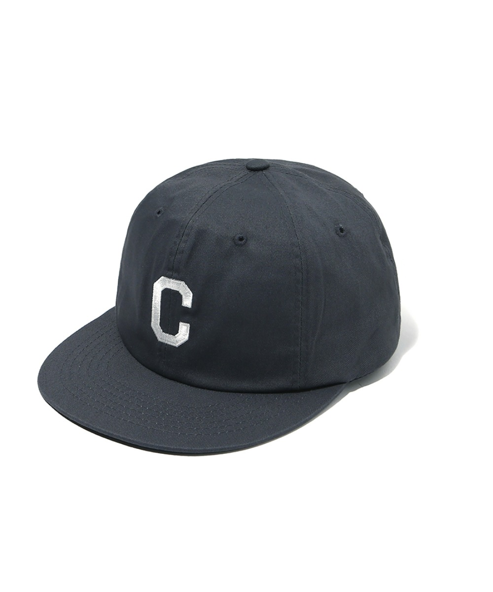 EMBROIDERY C LOGO B.B CAP GRAY