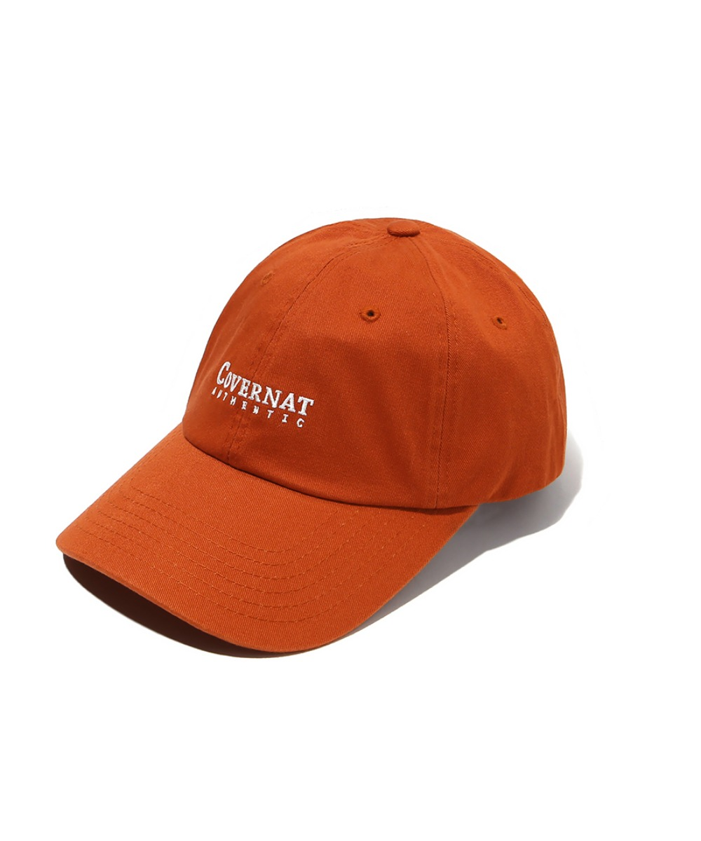 AUTHENTIC LOGO CURVE CAP RUST ORANGE