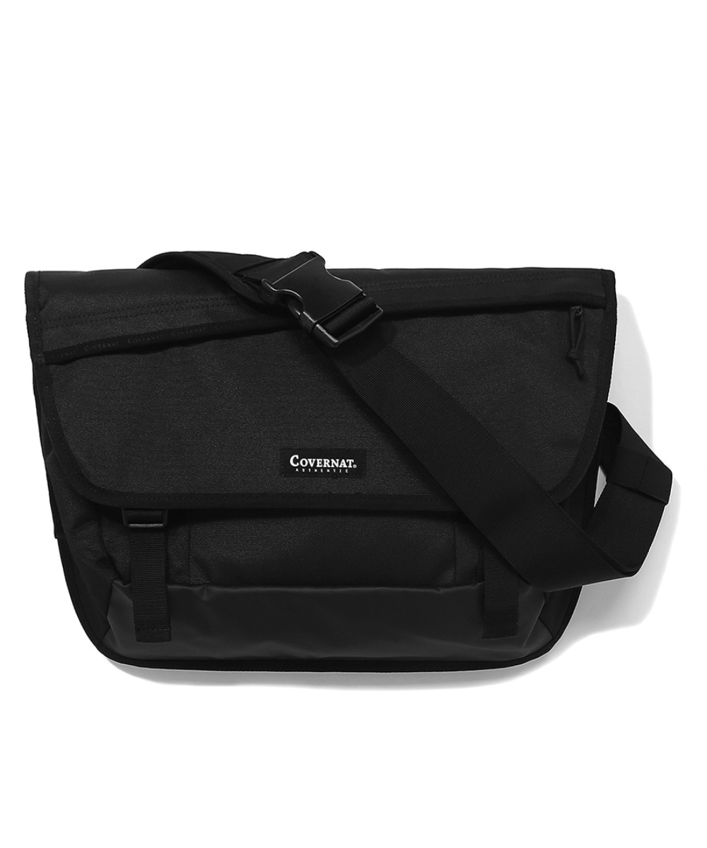 CORDURA MESSENGER BAG BLACK