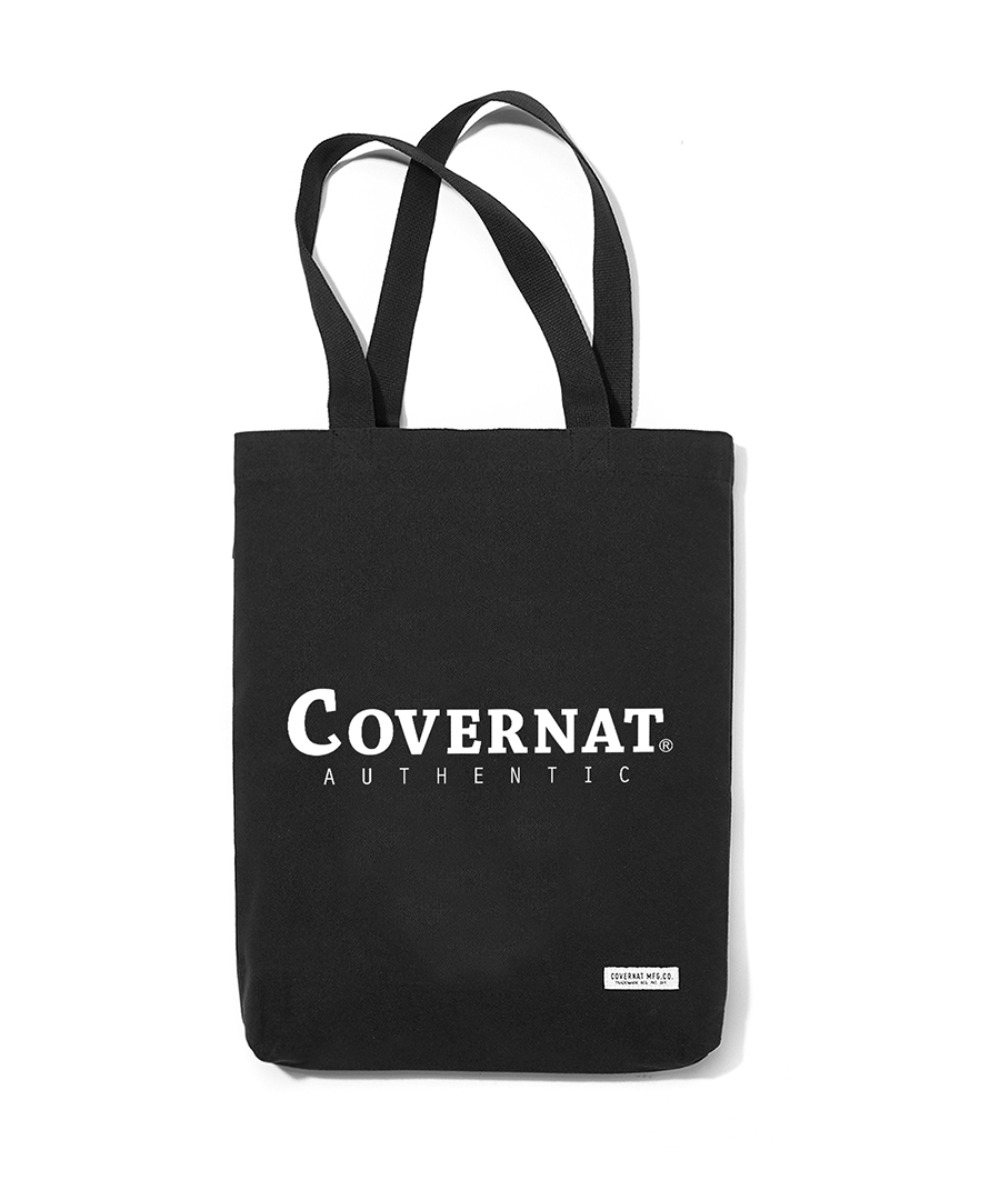 AUTHENTIC LOGO ECO BAG BLACK