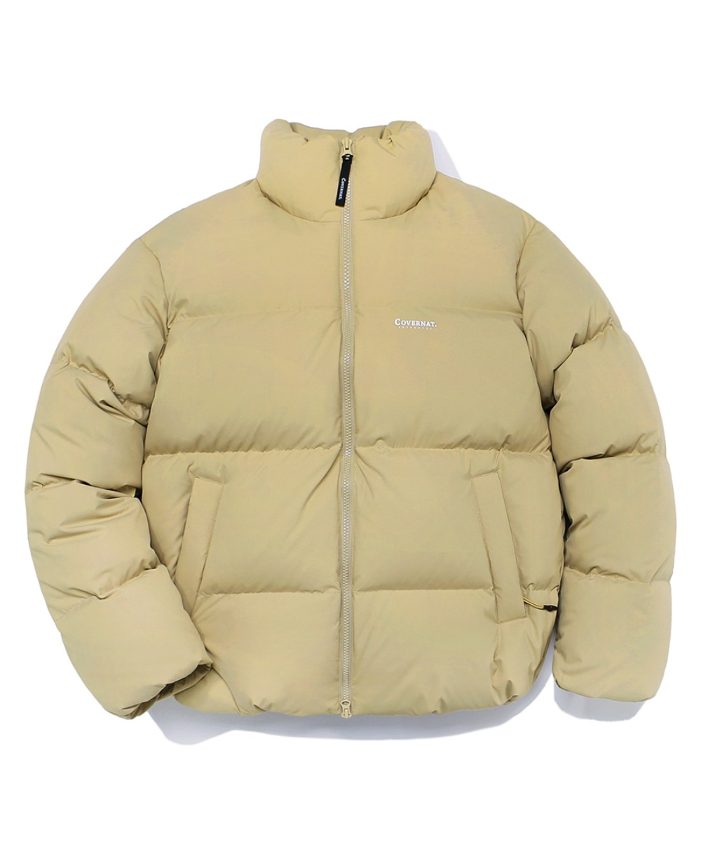 DUCK DOWN WARM UP SHORT PUFFER BEIGE