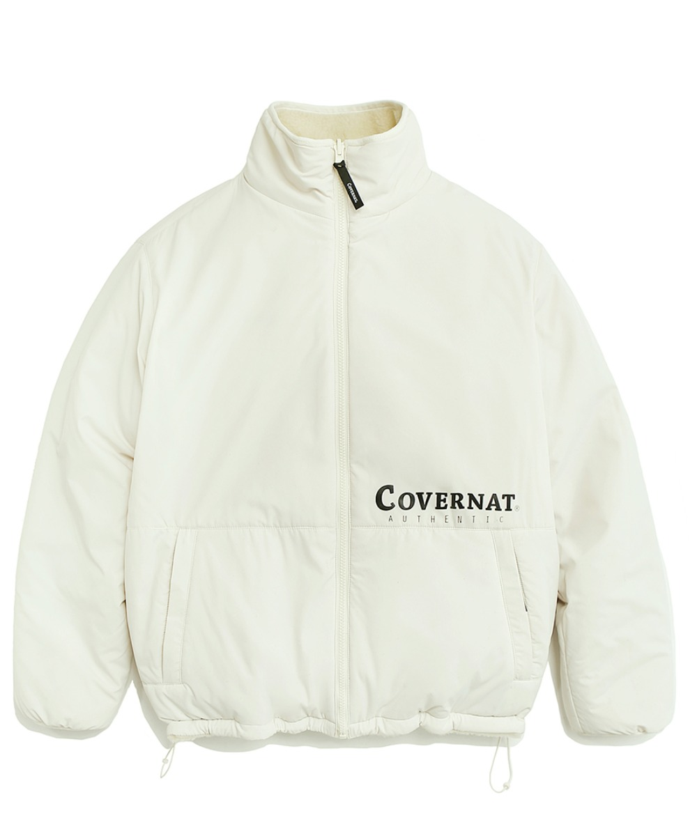 [레드벨벳 예리]REVERSIBLE FLEECE ZIP-UP JACKET OFFWHITE