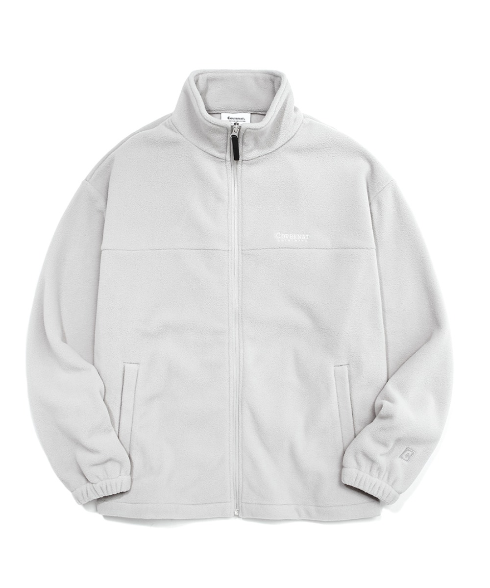 [예약발송] FLEECE ZIP-UP JACKET GRAY