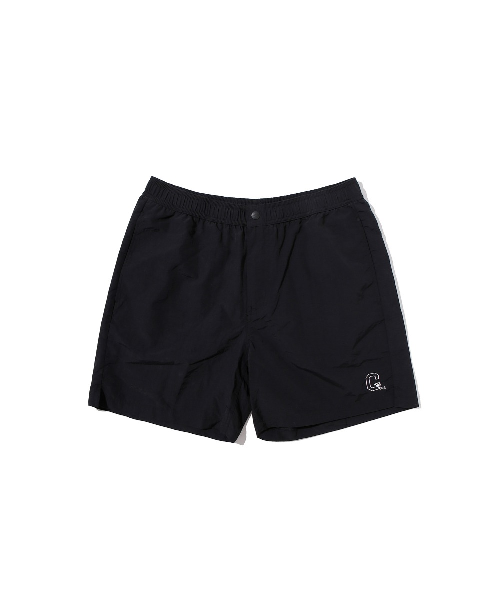 CXPEANUTS 70th NYLON COOL SHORE SHORTS BLACK