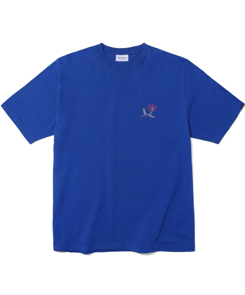 S/S SURFER MAN TEE ROYAL BLUE